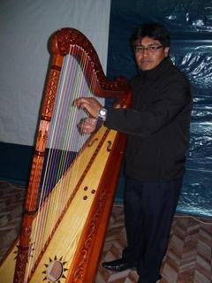 Harpist - Peru 2016