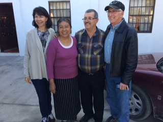Pastor Raymond and wife with Allshouses