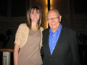 Sarah Stevens and Dr. K